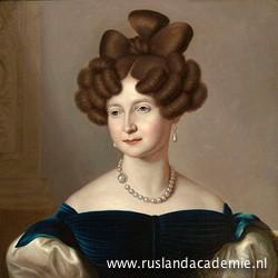 Jean-Baptiste van der Hulst (1790-1862) / 'Anna Paulovna, groot-hertogin van Rusland', 1841 / Haags Historisch Museum, Den Haag.