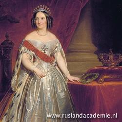 Nicaise de Keyser(1813-1887) / 'Portret van grootvorstin Anna Paulovna', 1850 / Hermitage Museum, Sint-Petersburg.