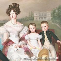 Jean-Baptiste van der Hulst (1790-1862), 'De koninklijke familie' (detail), 1832 / Collectie Koninklijk Huis Nederland.