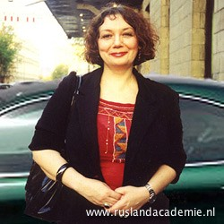 Maria Arbatova (geb. 1957). Russisch schrijfster, tv-presentatrice en feministe. / Foto: © Pavel Miroshnik (Павел Мирошник).
