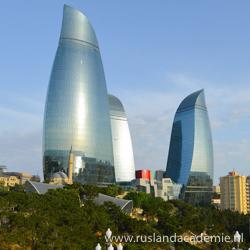 Flame Towers, Bakoe, Azerbeidzjan. / Foto: © 500 px by Archive Team.