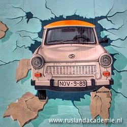 Test the Best', Muurschildering van Birgit Kindler / East Side Gallery, Berlijn.