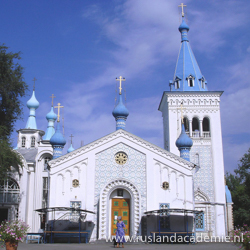 Opstandingskerk, Bisjkek, Kirgistan. / Foto: © Ondřej Žváček.