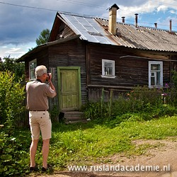 Russische datsja. / Foto: © 2013 Trijnie Duut.
