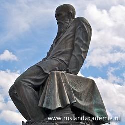 Standbeeld van Fjodor Dostojevski in het centrum van Moskou. / Foto: © 2013 Trijnie Duut.
