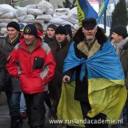 Europrotesten in Kiev (Oekraïne), 18 december 2013. / Foto: © Аимаина хикари.