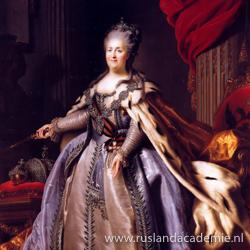 Fjodor Rokotov (1736-1809) / 'Portret van Catharina de Grote', ca. 1780 / Hermitage, Sint-Petersburg.