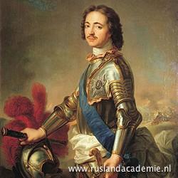 Jean-Marc Nattier (1685-1766) / 'Portret van Peter de Grote', na 1717 / Hermitage Museum, Sint-Petersburg.