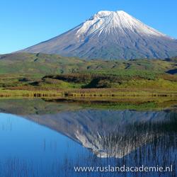 De vulkaan Kambalny op het Russische schiereiland Kamtsjatka. / Foto: © Daniel Läubli.