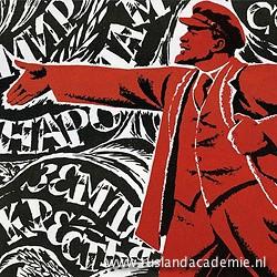 Poster met Lenin.