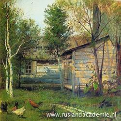 Isaac Levitan (1860-1900): 'Zonnige dag', 1876.
