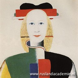 Kazimir Malevich (1878-1935) / 'Meisje met kam in het haar', 1932-1933 / Tretyjakovgalerij, Moskou.