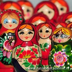 Russische matroesjka's zijn een populair souvenir. / Foto: © Marcos Leal.