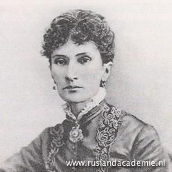 Nadezhda von Meck (1831-1894), beschermvrouwe van Tsjaikovski.