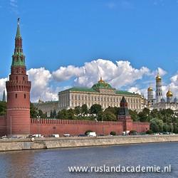 Het Kremlin gezien vanaf de Moskva-rivier. / Foto: © 2013 Trijnie Duut.