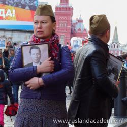 Viering 9 mei in Moskou. / Foto: © Jessica Brandsma.