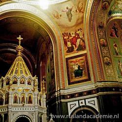Het interieur van de Christus Verlosserkathedraal in Moskou. / Foto: © 2016 de:Benutzer:Sansculotte.