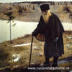 Michael Nesterov (1862-1942): 'De kluizenaar', 1888-1889.