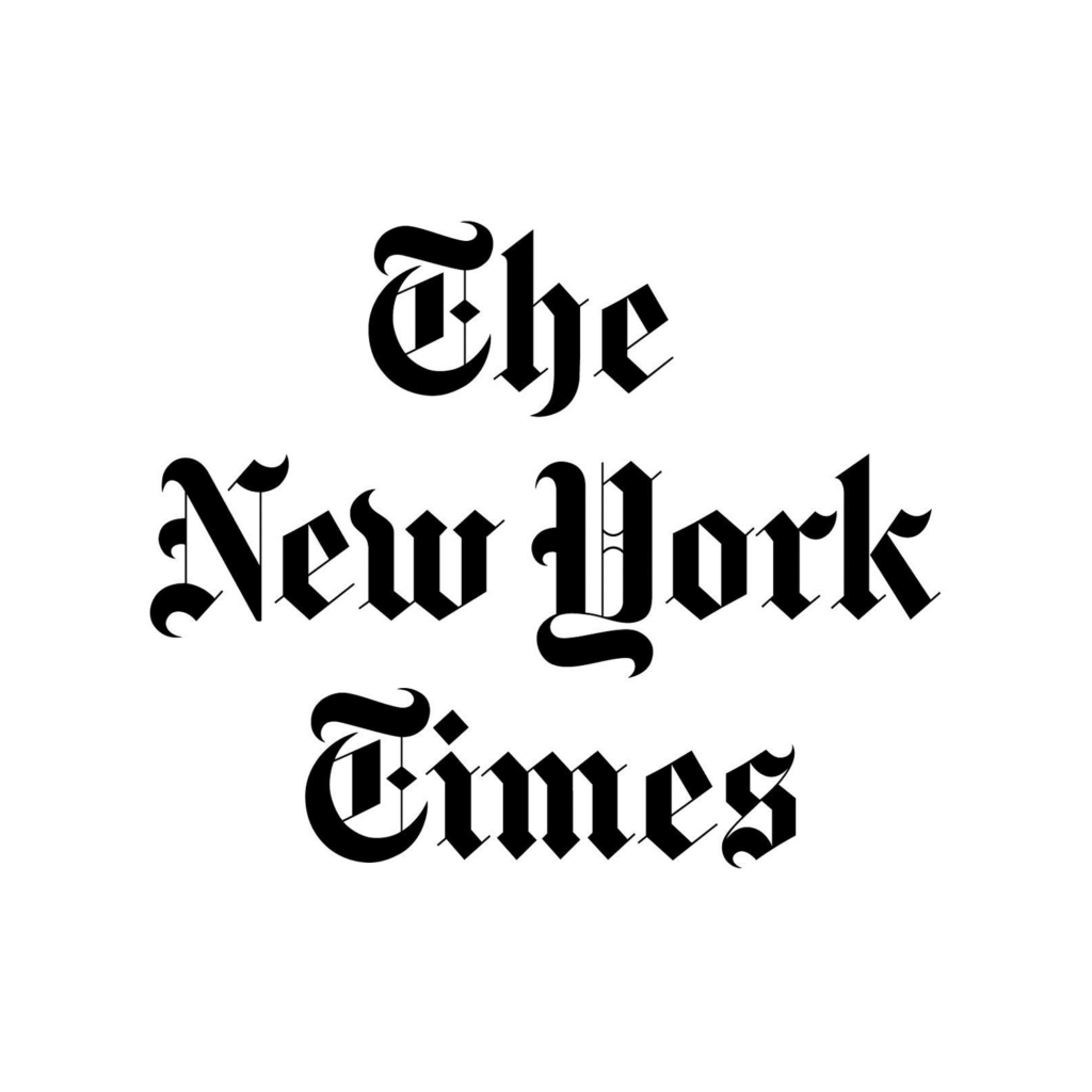 Logo The New York Times.