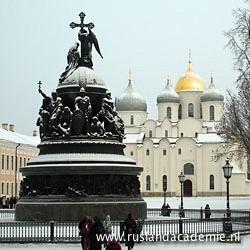 Het Millenniummonument in Novgorod, Rusland. / Foto: © 2015 Doreen Elsevier.