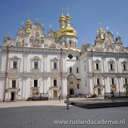 De Ontslapeniskathedraal van de Pechersk-Lavra, Oekraïne. / Foto: © Jorge Láscarfrom Australia.