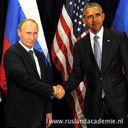 Vladimir Poetin en Barack Obama, 29 september 2015. / © Foto: www.kremlin.ru.
