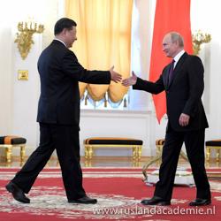 Ontmoeting tussen de Russische president Vladimir Poetin en de president van de Volksrepubliek China Xi Jinping, 5 juni 2019. / Foto: © www.kremlin.ru.