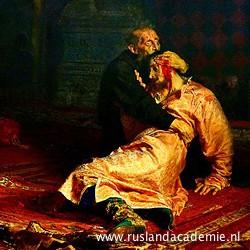 Ilja Repin (1844-1930) / 'Ivan de Verschrikkelijke en zijn zoon Ivan', 1885 / Tretjakovgalerij, Moskou.