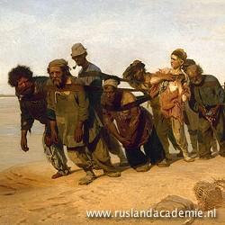 Ilja Repin (1844-1930), 'De Wolgaslepers',1870-1873 / Russisch Museum, Sint-Petersburg.