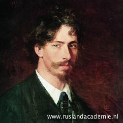 Ilja Repin (1844-1930) / 'Zelfportret', 1878 / Russisch Museum, Sint-Petersburg.