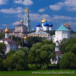De Troitse-Sergieva Lavra (het klooster van de Heilige Drie-eenheid en de heilige Sergej) wordt beschouwd als het Russische Vaticaan. / Foto: © Александр Гришин.