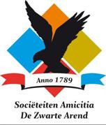Logo Sociëteiten Amicitia & De Zwarte Arend.