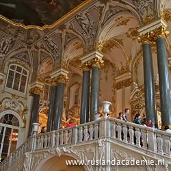 De Jordaantrap in het Hermitage Museum in St.-Petersburg. / Foto: © 2013 Trijnie Duut.