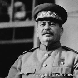 Foto van Jozef Stalin.