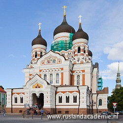 De Alexander Nevskikathedraal in Talinn, Estland. / Foto: © Diego Delso, Wikimedia Commons, License CC-BY-SA 3.0.