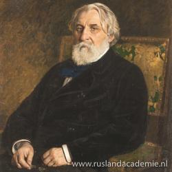 'Ivan Toergenjev', 1874. / Ilja Repin (1844-1930) / Tretjakovgalerij, Moskou.
