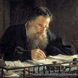 Nikolaj Ge (1831-1894) / 'Portret van Leo Tolstoj'. / Tretjakovgalerij, Moskou.