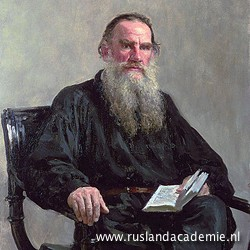 Ilja Repin (1844-1930) / 'Portret van Leo Tolstoj', 1887. / Tretjakovgalerij, Moskou.