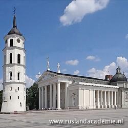 De kathedraal van Vilnius, Litouwen. / Foto: © 2012 Jean-Pierre Dalbéra uit Parijs, Frankrijk.