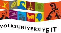 Logo Volksuniversiteit.