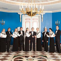 Het Russisch-orthodox ensemble Zlatoust uit Moskou.